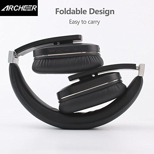 photo Wallpaper of Archeer-ARCHEER Bluetooth Kopfhörer, Bluetooth 4.1 Wreless Headset, Klappbar Kopfhörer, Faltbarer Stereo Kopfhörer, Noise Reduction-
