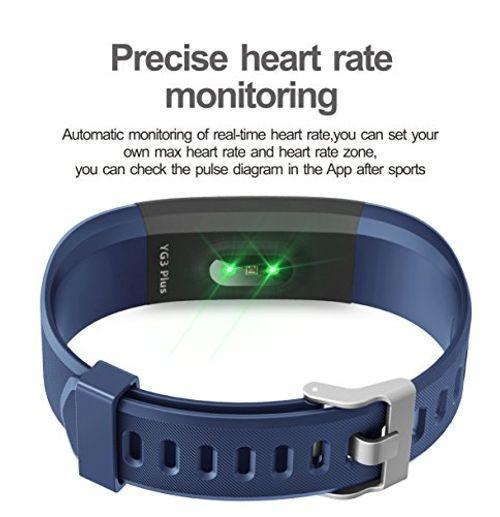 photo Wallpaper of Muzili-Fitness Tracker Muzili YG3 Plus Sport Fitness Armband Laufen Wristband Fitness Band-Blau