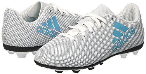 photo Wallpaper of adidas-Adidas Unisex Kinder X 17.4 Fxg Fußballschuhe, Weiß (Footwear White/Energy Blue/Clear Grey), 36-Weiß (Footwear White/Energy Blue/Clear Grey)