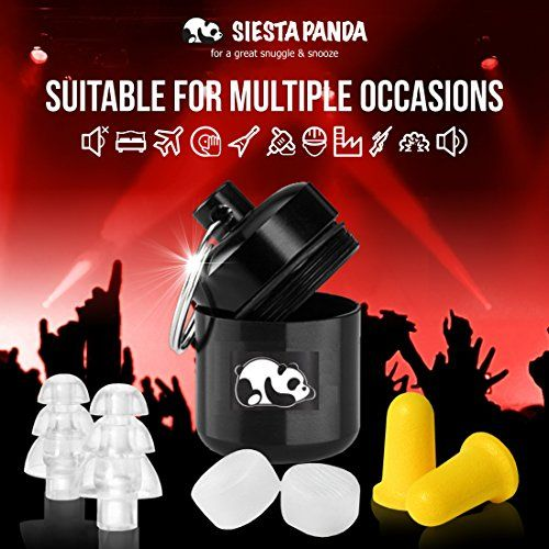 photo Wallpaper of Siesta Panda-Siesta Panda Juego De 12 Tapones Para Oídos [ 4 Anti-Claro