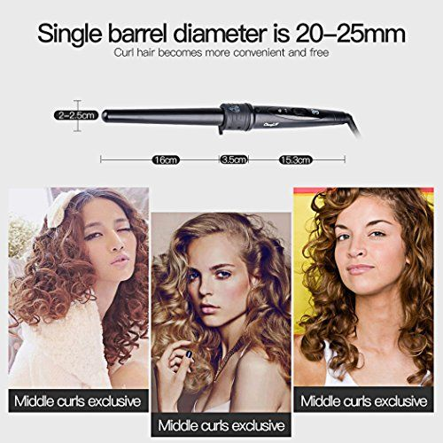 photo Wallpaper of inkint-Inkint Rizador De Pelo / Rulos,3 En 1 Pinza Rizadora,Spiral Hair Curler-