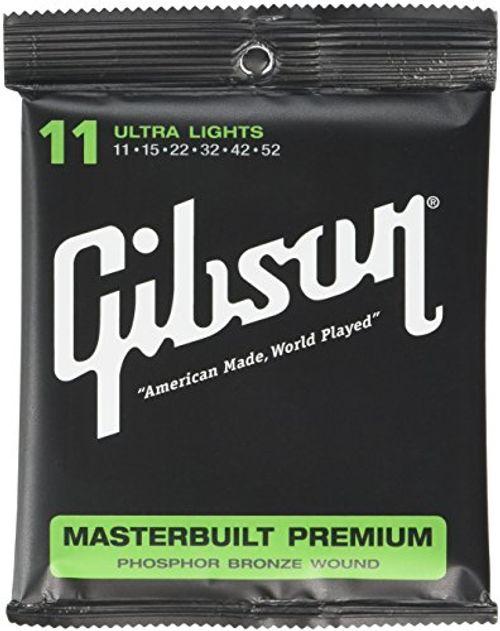 photo Wallpaper of Gibson Gear-Gibson Gear SAG MB11 Masterbuilt Premium Saiten .011  -