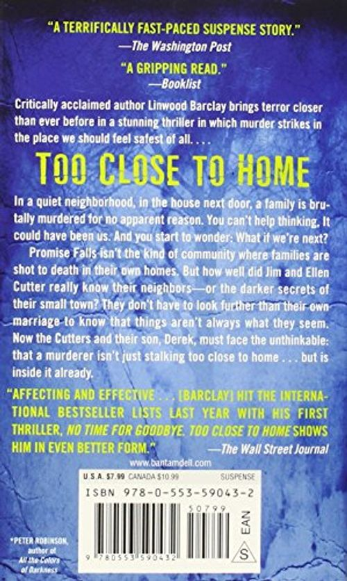 photo Wallpaper of -Too Close To Home: A Thriller-