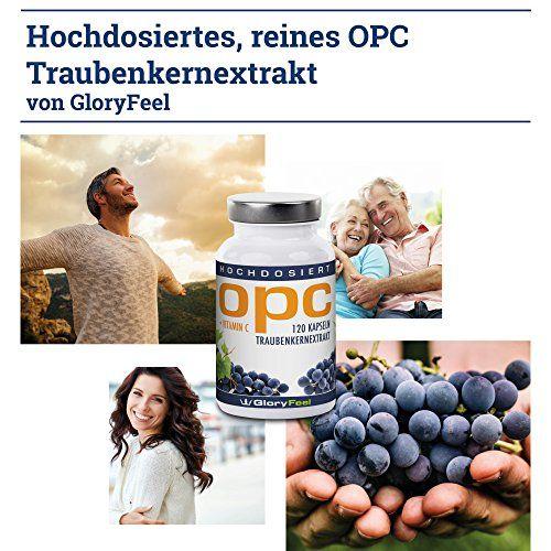 photo Wallpaper of gloryfeel-OPC Extracto De Semilla De Uva – 120 Cápsulas De OPC Veganas Y-