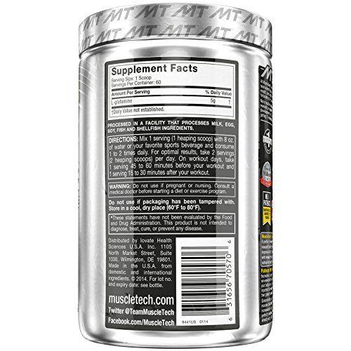 photo Wallpaper of MuscleTech-Muscletech Platinum 100% Glutamine 60 Serv   Suplemento De-Plata