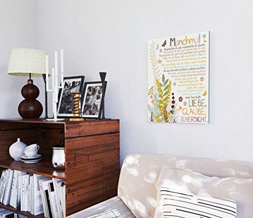 photo Wallpaper of REINDERS-REINDERS Manchmal   Wandbild 40 X 50 Cm-Multicolored