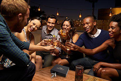 photo Wallpaper of Amerigo-Amerigo Premium Edelstahl Whisky Steine Geschenkset – Hohe Kühltechnologie   Wiederverwendbare Whiskey-