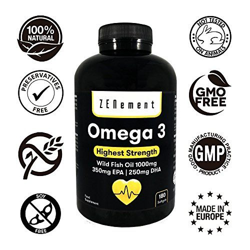 photo Wallpaper of Zenement-Omega 3 Aceite De Pescado Salvaje | 1000 Mg X 180 Perlas |-