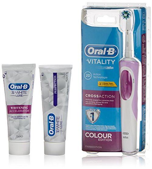 photo Wallpaper of Oral-B-Oral B Cepillo Eléctrico + Dentífrico 3D White + Dentífrico 3D-