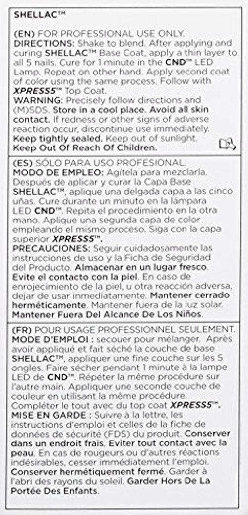 photo Wallpaper of NDC-CND Shellac Esmalte De Uñas De Gel, Tono Safety Pin-