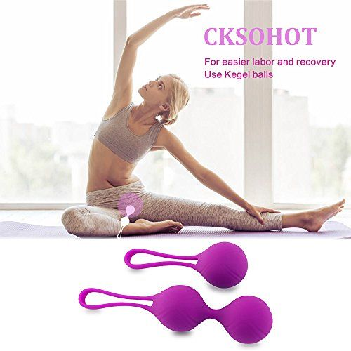 photo Wallpaper of CKSOHOT-Cksohot® Bolas Chinas De Silicona Médica Kit De Pesas De Ejercicio Kegel Para-Kegel Balls-2 Bolas