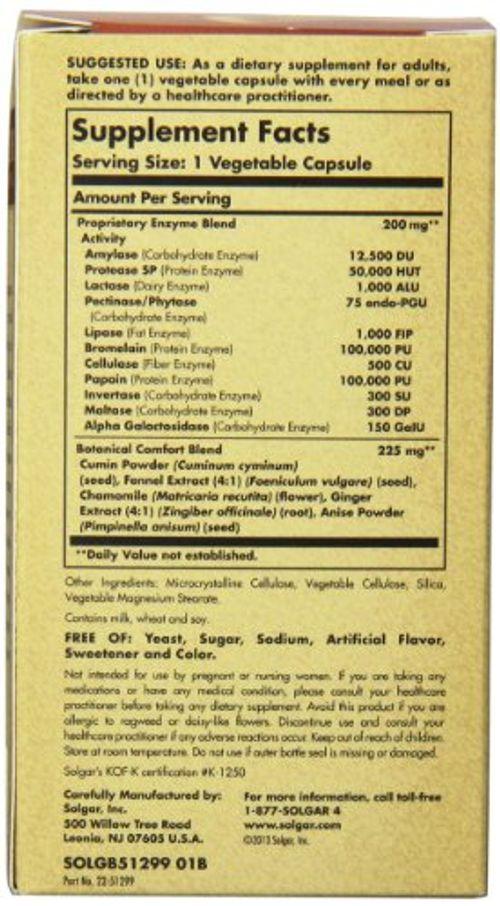 photo Wallpaper of Solgar-Solgar Confort Zone Digestive   90 Cápsulas-