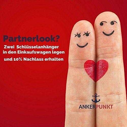 photo Wallpaper of ANKERPUNKT-ANKERPUNKT Schlüsselanhänger Leder Paar Liebe Mr.&Mrs. Set Verlobungsgeschenk, Hochzeitgeschenk, Geschenk-Mr./Mrs. Set