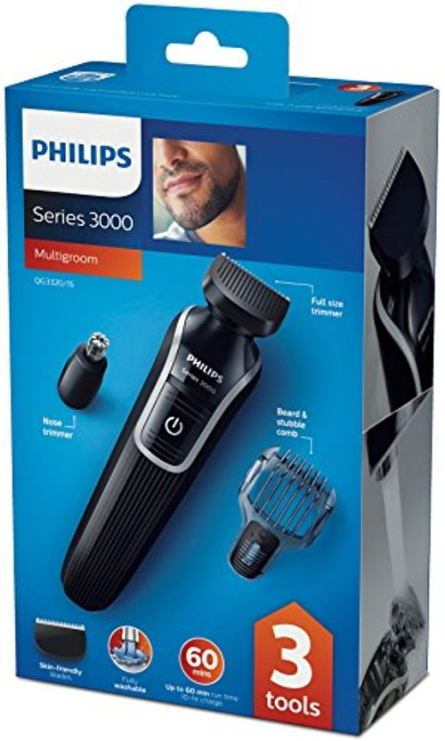 photo Wallpaper of Philips-Philips QG3320/15   Recortador De Barba Y Precisión 3 En-Negro