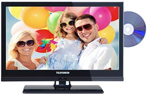 photo Wallpaper of Telefunken-Telefunken L19H182I3D 48 Cm (19 Zoll) Fernseher (HD Ready, Triple Tuner, DVD Player)-schwarz