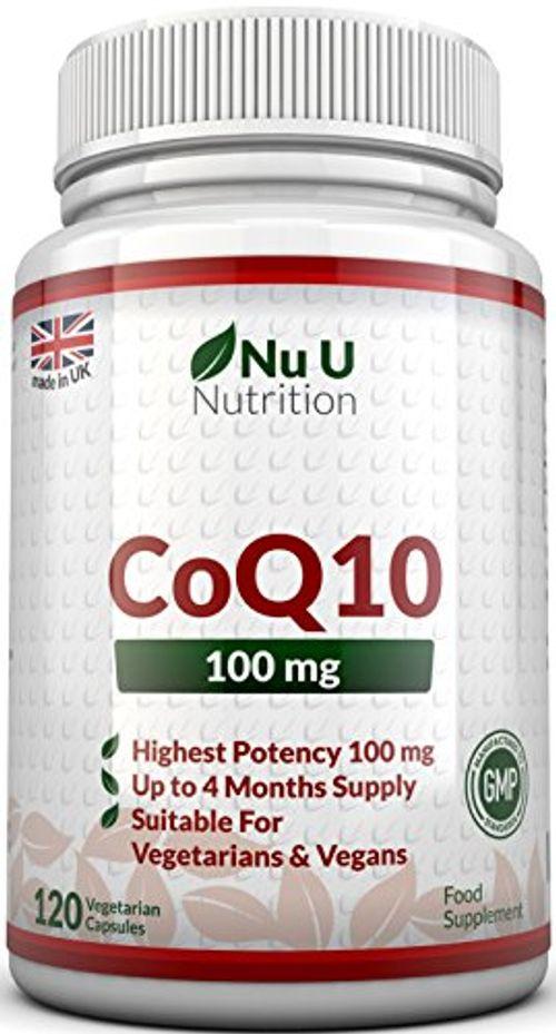 photo Wallpaper of Nu U Nutrition-COENZIMA Q10 100 Mg   120 Comprimidos   Complemento Alimenticio De Nu-
