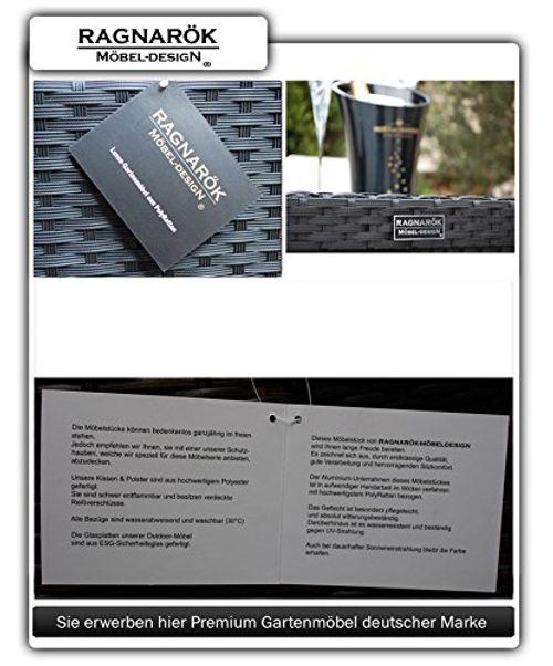 photo Wallpaper of Ragnarök-Möbeldesign-PolyRattan Essgruppe   DEUTSCHE MARKE   EIGNENE PRODUKTION -Schwarz