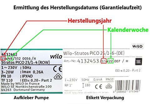 photo Wallpaper of Wilo-Wilo 4132454 Hocheffizienzpumpe Stratos Pico  Elektronisch Kommutierter Motor 30/1-