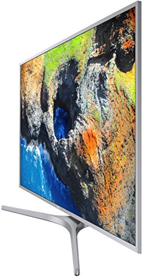 photo Wallpaper of Samsung-Samsung MU6409 123 Cm (49 Zoll) Fernseher (Ultra HD, HDR, Triple Tuner, Smart TV)-Silber