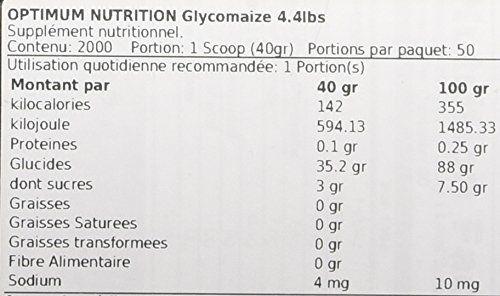 photo Wallpaper of Optimum Nutrition-Optimum Nutrition Glycomaize Suplemento Para Deportistas, Sin Sabor   2000 Gr-