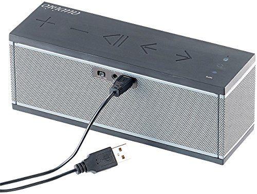 photo Wallpaper of auvisio-Auvisio WiFi Lautsprecher: WLAN Multiroom Lautsprecher Mit Bluetooth & Mikrofon,-