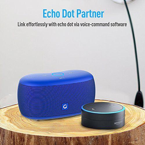 photo Wallpaper of DOSS-Bluetooth Lautsprecher DOSS SoundBox Xs Lautsprecherbox Mini Drahtloser Bluetooth 4.0-