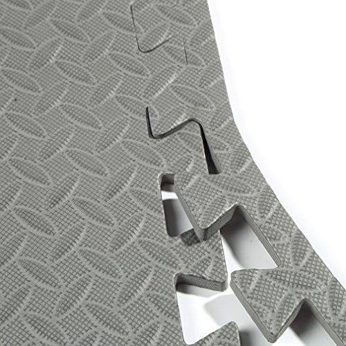 photo Wallpaper of COZIME-COZIME Schutzmatten Set | 12 X Puzzle Matte á 60 X-Grau