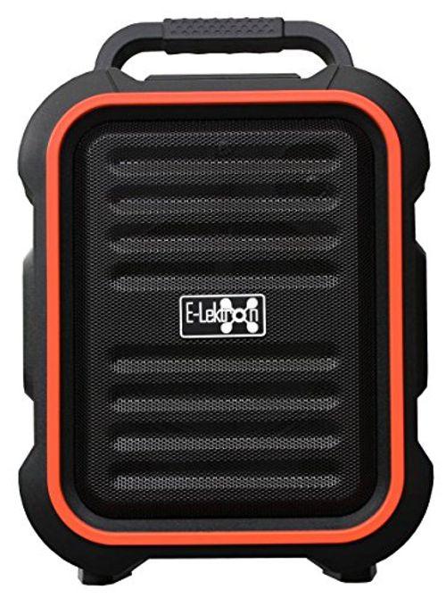 photo Wallpaper of E-Lektron-E Lektron EL16 P Tragbare Soundanlage USB/Bluetooth PA Soundsystem Mit Mikrofon Portable Karaoke-