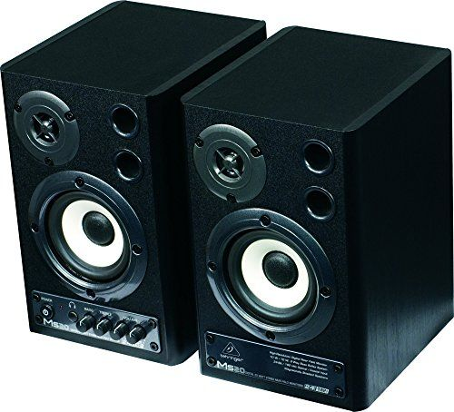 photo Wallpaper of Behringer-Behringer MS20 Digital Monitor 2 Wege Lautsprecher (20 Watt) Schwarz (paar)-