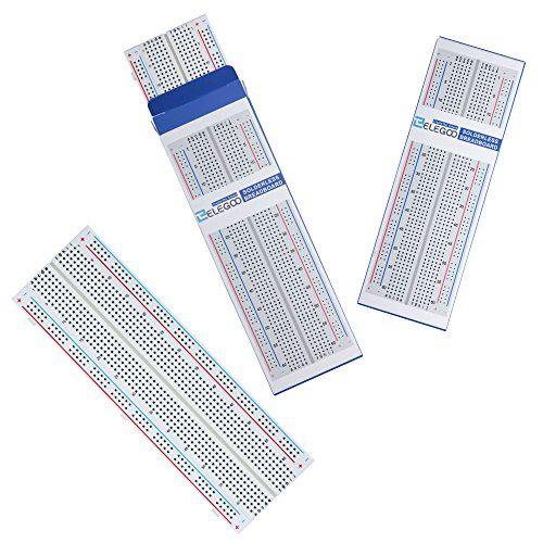 photo Wallpaper of Elegoo-Elegoo 3er MB 102 Breadboard 830 Pin Solderless Prototype PCB-3 x 830er