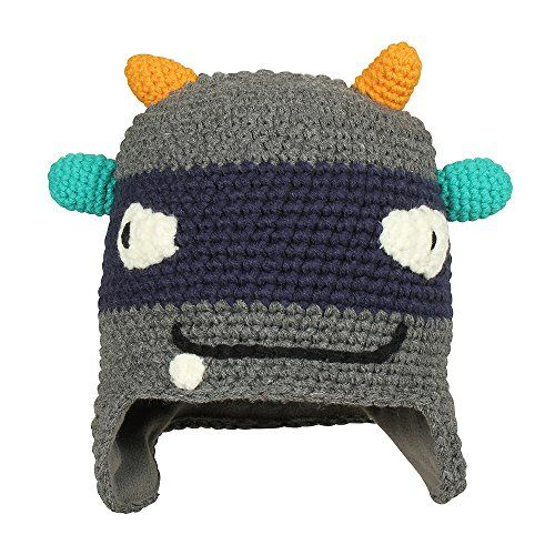 photo Wallpaper of Barts-Barts Kids Monster Beanie Mütze Strickmütze Wintermütze Strickmütze Wintermütze (One Size-Grau