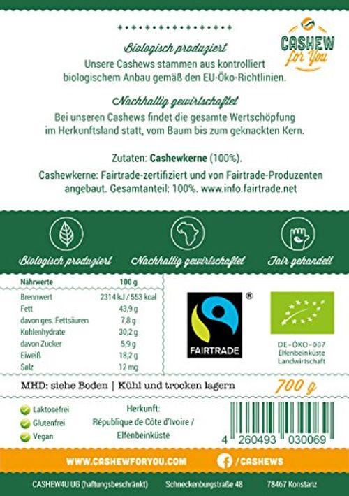 photo Wallpaper of Cashew for You-Bio Fairtrade Cashewkerne: Naturbelassen (700g) Von Der Elfenbeinküste-