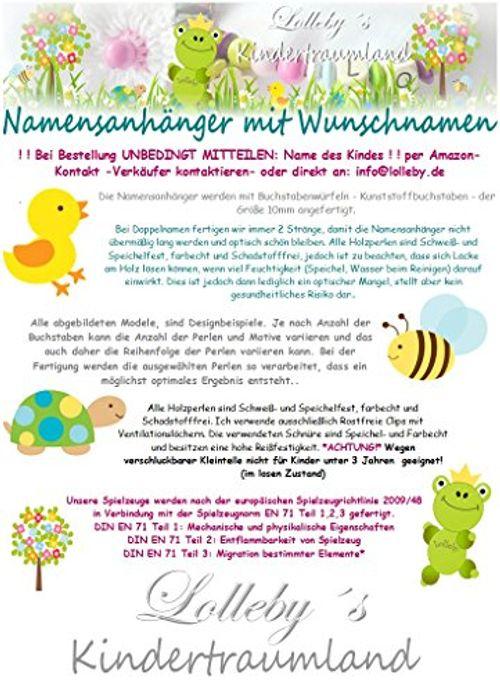 photo Wallpaper of Lolleby´s Kindertraumland-NAMENSANHÄNGER   Anhänger Mit Namen   Baby, Kinder, Stern, Schlüsselanhänger, Wickeltasche,-Royalblau, Hellblau, Teddy