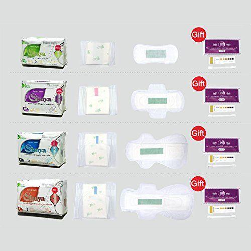 photo Wallpaper of Shuya-SHUYA Negative Ion Sanitary Napkins 6 Packs(5packs Daytime +1 Pack Pantyliners)-