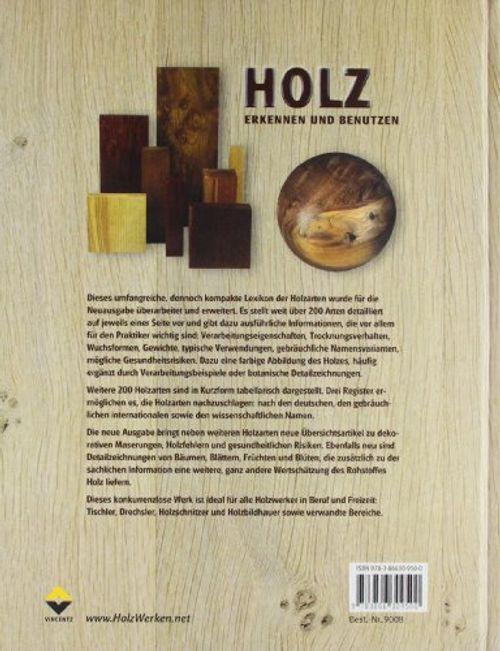photo Wallpaper of Holzwerken Im Vincentz Network-Holz Erkennen Und Benutzen: Das Nachschlagewerk Für Die Praxis Über 200 Holzarten-