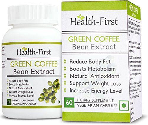 photo Wallpaper of Health First-Salud Primero Pure Green Coffee Bean Extracto Máximo, Quemagrasas, 1600mg Porción-