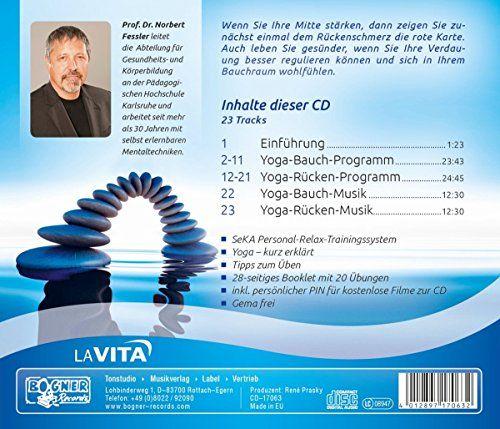 photo Wallpaper of -Yoga: Mitte Stärken Verdauung+Rücken-