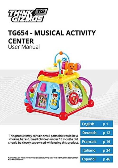 photo Wallpaper of Think Gizmos-Lernspielzeug Mit Musik Für Kleinkinder TG654   Spielcenter Für Kinder-