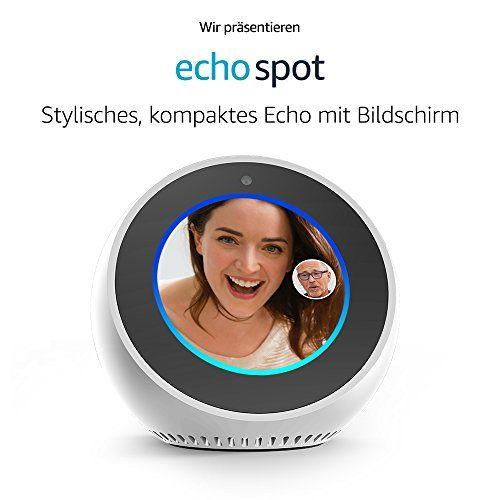 photo Wallpaper of Amazon-Wir Stellen Vor: Amazon Echo Spot   Weiß-Weiß