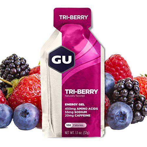 photo Wallpaper of GU Energy-GU Energy Gel Energizante De Frutas Del Bosque   Paquete De 24 X-Tr-berry