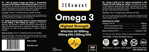 photo Wallpaper of Zenement-Omega 3 Aceite De Pescado Salvaje | 1000 Mg X-