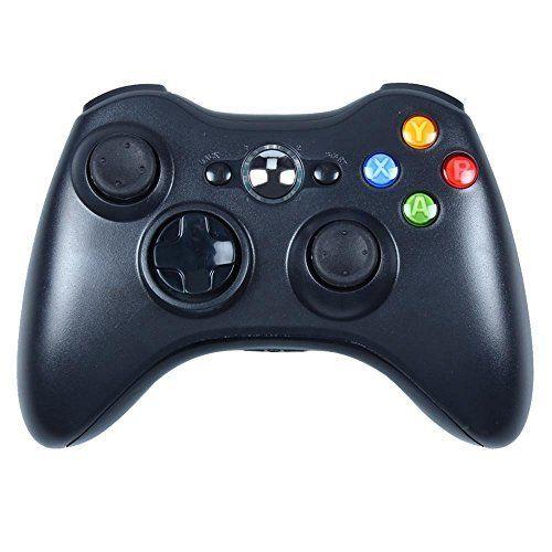 photo Wallpaper of -PYRUS Xbox 360 Controller Xbox 360 Wireless Controller Neue Drahtlose Entfernten Pad Game Controller-