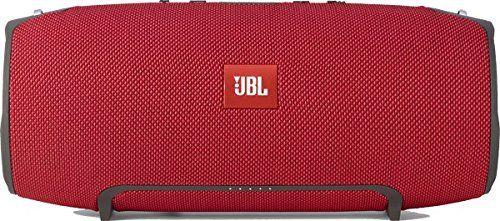 photo Wallpaper of JBL-JBL Xtreme Spritzwasserfester Tragbarer Bluetooth Lautsprecher Mit 10,000 MAh Akku, Dualem USB Ladeanschluss Und-Rot