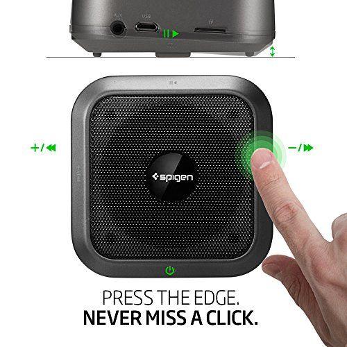 photo Wallpaper of Spigen-Bluetooth Lautsprecher, Spigen [Premium Bluetooth 4.1] [Micro SD] Kabellose Lautsprecher Wireless Lautsprecher-Black
