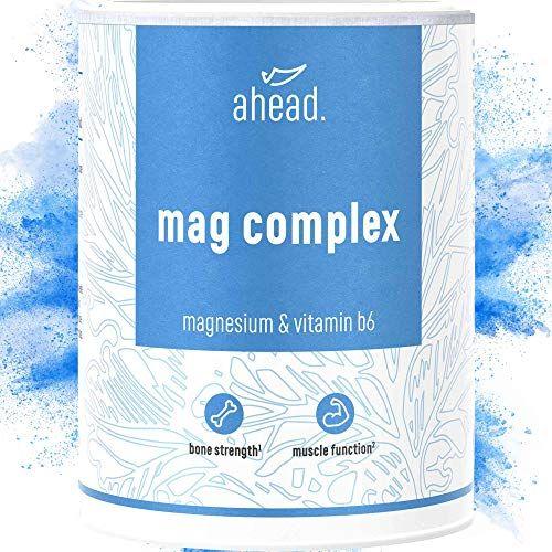 photo Wallpaper of ahead -Ahead® MAGNESIUM COMPLEX | 120 Kapseln Mit Magnesiumglycinat Und Magnesiumcitrat + Vitamin B6-