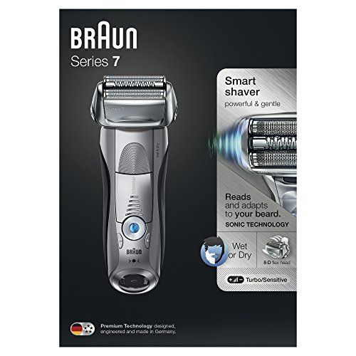 photo Wallpaper of Braun-Braun Series 7 7893s Wet&Dry Papel Aluminio Recortadora Plata  -Plata