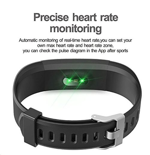 photo Wallpaper of Arbily-Fitness Tracker Arbily Yg3plus Heart Rate Monitor Smart Pulsera Actividad Rastreador-black-blue