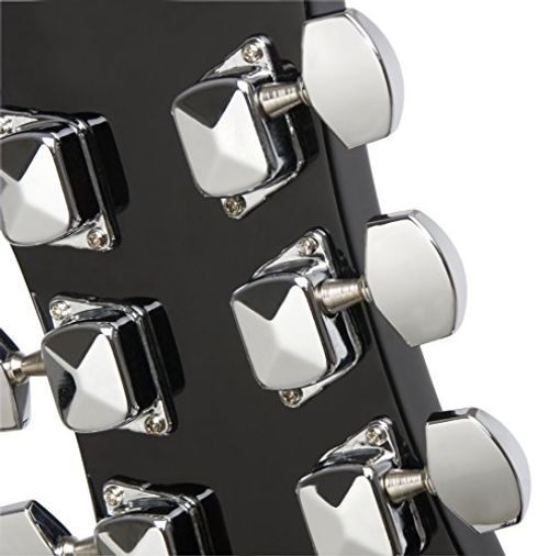photo Wallpaper of Epiphone-Epiphone DR 100 Dreadnaught Akustik Gitarre (Ebenholz Lack, Mahagoni Korpus, Ausgewählte-Ebony