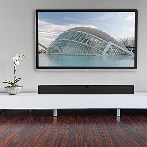 photo Wallpaper of LONPOO-LONPOO 615B 2.1CH TV Sound Bar Full Digital Home Theater 60 Watt Bluetooth Lautsprecher-Schwarz