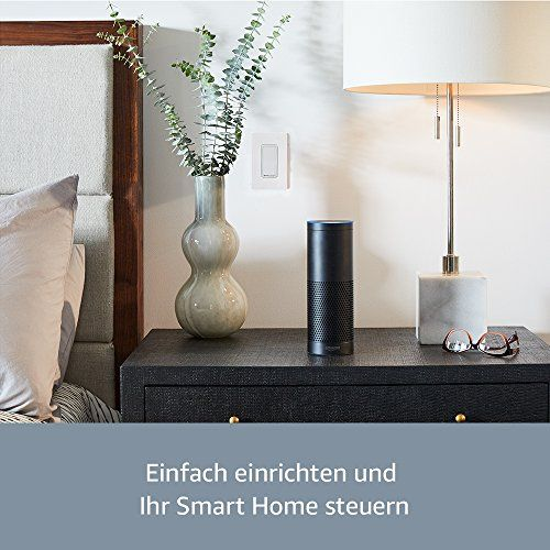 photo Wallpaper of Amazon-Wir Stellen Vor: Echo Plus   Mit Integriertem Smart Home Hub-Weiß